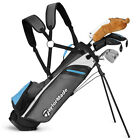 """TAYLORMADE RORY JUNIOR COMPLETE GOLF SET W/ BAG AGES 8+ 52""""- 60"""" TALL - NEW 2019"""