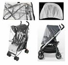 Rain Cover Mosquito Net Set Cover Protector for Mamas and Papas Baby Strollers
