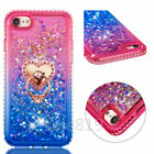 Liquid quicksand Diamond Crystal Side TPU+PC Ring Stand Case Cover For Phones