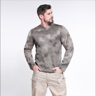 Men's UPF 50+ UV Sun Protection Outdoor Long Sleeve Performance T-Shirt Quick dr