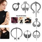 1pc Clasp Buckle Pin Viking Brooch Cloak Brooches Retro Medieval Norse Jewelry