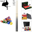 Pool Tables Balls Set - Snooker Billiard 16/22 Balls W/ Pool Cue Stick Kit £14.99 GBP on eBay
