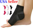 Kyпить Compression Support Ankle Sleeve Socks PLANTAR FASCIITIS Heel Valgus S/M L/XL US на еВаy.соm