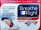 Breathe Right Nasal Strips Extra Strength Tan Snoring Relief 6 - 144