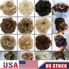 Kyпить Fast Real Natural Curly Messy Bun Hair Piece Scrunchie Hair Extensions For Women на еВаy.соm