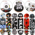"""Skateboard, 31"""" x 8"""" Complete PRO Skateboard, 9 Layer Canadian Maple Wood Double image"""