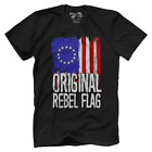 Betsy Ross Original Rebel USA American Flag T-Shirt