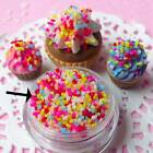 100g/Pack DIY Polymer Clay Fake Candy Sweet Sugar Sprinkles Decoration for Phone image