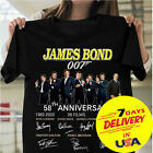 James Bond 007 58th Anniversary T-shirt Full Size S-2XL Cotton T-shirt $17.99 USD on eBay