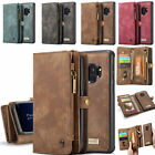 Genuine Leather Flip Magnetic Wallet Zipper Phone Case Cover For Samsung/ iPhone $15.92 USD on eBay