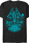 Star Wars Millennium Falcon Tshirt $12.0 USD on eBay