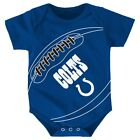 "Indianapolis Colts NFL Outerstuff Newborn Blue ""Fanatic"" Football Creeper $9.99 USD on eBay"