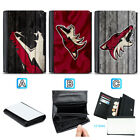 Arizona Coyotes Leather Wallet Purse Coin Credit Card ID Holde $14.99 USD on eBay