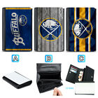 Buffalo Sabres Leather Wallet Purse Coin Credit Card ID Holde $13.99 USD on eBay