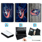 Columbus Blue Jackets Leather Wallet Purse Coin Credit Card ID Holde $14.99 USD on eBay