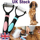 Pet Dog Cat Shedding Trimmer Grooming Dematting Comb Brush Open Knot Knife UK