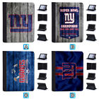 New York Giants Leather Case For iPad Mini 1 2 3 4 Pro 9.7 10.5 Air $19.99 USD on eBay