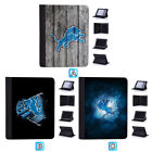Detroit Lions Leather Case For iPad Mini 1 2 3 4 Pro 9.7 10.5 Air $19.99 USD on eBay