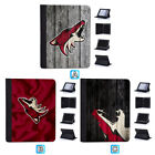 Arizona Coyotes Leather Case For iPad Mini 1 2 3 4 Pro 9.7 10.5 Air $19.99 USD on eBay