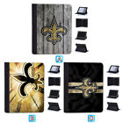 Orleans Saints Leather Case For iPad Mini 1 2 3 4 Pro 9.7 10.5 Air $19.99 USD on eBay