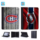 Montreal Canadiens Leather Case For iPad Mini 1 2 3 4 Pro 9.7 10.5 Air $19.99 USD on eBay