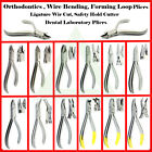 Orthodontics Loop Forming Wire Bending Pliers, Arch Wire Ligature Braces Cutters