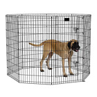 MidWest Exercise Pen / Pet Playpens | 8-Panels Each Ideal for Any Dog Breed