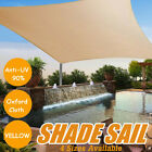 300D Sun Shade Sail UV Outdoor Garden Waterproof Awning Canopy Patio Cover