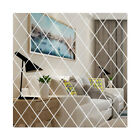 Diamonds Triangles Stickers Diy Full Body Mirror Wall Sticker Acrylic Decal