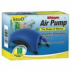 WHISPER AIR PUMP Fish Tank Filtration UpTo 10 20-40 Gallon Aquarium Water Filter