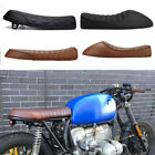 Hump Cafe Racer Motorcycle Vintage Seat Fit For Honda CB 400 550 750 Black $44.27 USD on eBay