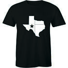 Home Texas Map Flag Texan Lone Star State Southern Pride USA Tee Men's T-Shirt