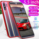 Uk P30 Pro Smartphone 5.5'' Android 6.0 Dual Sim 4g+32g Mobile Phone Face Id Ma