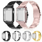 Apple Watch Series 4 3 2 Stainless Steel Band with Screen Protector Case Cover image