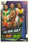 2019 WWE Slam Attax UNIVERSE - RAW SMACKDOWN NXT LEGENDS & 205 LIVE cards  <br/> Buy 2 Get 10 Free, all box fresh and in MINT condition