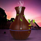 7 Color 130ML Aroma Essential Oil Diffuser Wood Grain Aromatherapy Humidifier