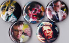 """Re-Animator 1"""" Pinback Buttons or Magnets set of 5"""