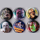 """Monster Squad 1"""" Pinback Buttons or Magnets set of 6"""