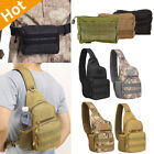 Outdoor Military Tactical Backpack Sling Bag Mini Molle Pouch EDC Waist Pack Bag