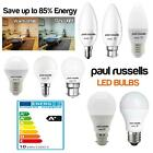A+ LED Warm White Day Light 5W 7W 12W Candle Gls Golf Bulbs BC ES SES UK