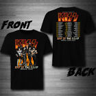 "New Kiss Tour 2020 ""END OF THE ROAD"" Full Dates T-Shirt Tee Exclusive image"