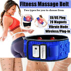 Electric Abdominal Tummy Slimming Belly Burner Lose Weight Fitness Massage