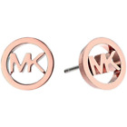 Michael Kors Classic Logo Cut Out Stud Earrings Various Colors image