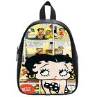 Betty Boop Cartoon Comic Girl bag / Custom school backpack for kids $38.55 USD on eBay