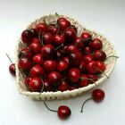 Artificial Lifelike Cherry Plastic Fake Faux Fruit Party Home Table Decoration