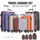 Kyпить 4 Piece Travel Luggage Set Lightweight Suitcase Spinner Hardshell Business Case на еВаy.соm