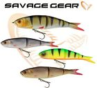 Savage Gear Soft 4Plat Ready Rigged Lures 9cm 13cm Body Kits Fishing Swim Jerk