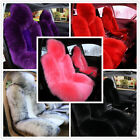 1Pc Universal Front Car Seat Cover Real Australian Sheepskin Long Fur Fit most $56.82 CAD on eBay
