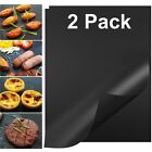 BBQ Grill Mats Non Stick Reusable Easy Cooking Sheet Bake Grilling Nonstick Mat