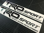 2 TRD Sport Toyota Tundra Tacoma Stickers Decals Stickers Vinyl Cut 2P on eBay